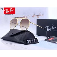 Ray-Ban 2019 new large frame color film polarized sunglasses #3