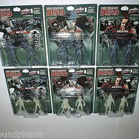 The Walking Dead Skybound EXCLUSIVE PVC figure packs MINT Negan Carl Rick Grimes