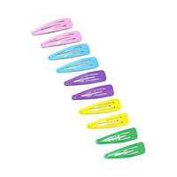 Colorful Oversized Hair Clip Set