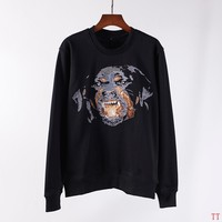 Givenchy Woman Men Fashion Embroidery Top Sweater Pullover