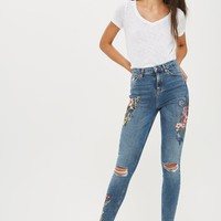 TALL Toucan Embroidery Jeans | Topshop