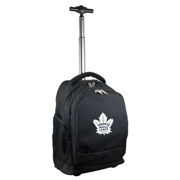 Toronto Maple Leafs Wheeled Premium Backpack