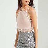 UO Stockholm Side Button-Down Mini Skirt | Urban Outfitters