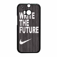 Nike Write Future Wood HTC One M8 Case