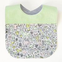 Doodletown Original Fabric Bib
