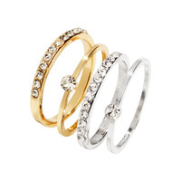 4-pack Rings - from H&M