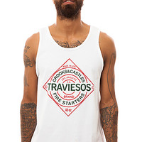 Crooks and Castles Tank Top Traviesos in White
