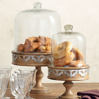 """17"""" Serving Pedestal with Dome - GG Collection"""
