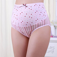 Delicate Hot! 1PC Pregnancy Maternity Clothes Printing Pregnant Women Underwear Panties nor51229