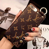 LV Louis Vuitton Fashion Print iPhone Phone Cover Case For iphone 6 6s 6plus 6s-plus 7 7plus