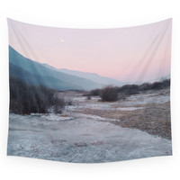 Society6 Frozen Morning Wall Tapestry