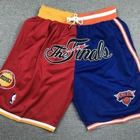 Just Don 1994 NBA Finals Houston Rockets x New York Knicks Short