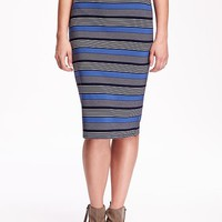 Old Navy High Rise Midi Pencil Skirt