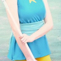 Steven Universe Pearl's outfit Cosplay (2 pieces)