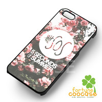 5sos pink roses logo - 1nn for iPhone 4/4S/5/5S/5C/6/ 6+,samsung S3/S4/S5/S6 Regular/S6 Edge,samsung note 3/4