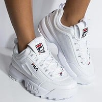 Fila Disruptor II Women Men Fashion Casual  Sneakers Sport Shoes