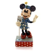 Jim Shore SWEET HARMONY Polyresin Minnie Mouse Singing 4050388