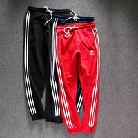 Adidas  Fashion Running Leggings Sweatpants men and women