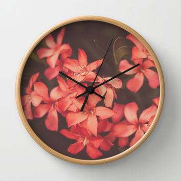 Coral Tales Wall Clock by Hello Twiggs