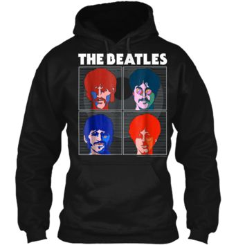 The Beatles Yellow Submarine Boxes  Pullover Hoodie 8 oz