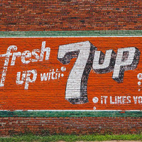 7 up Photography Soda Buena Vista Georgia Print Travel Southern Mural Art Retro Signage Travel Photography