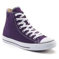 Converse Chuck Taylor All Star High-Top Sneakers for Unisex (Purple)