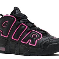 Nike Kids Air More Uptempo GS, Black / White - Black