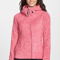 Women's Bench 'Slinker II' Space Dye Fleece Jacket,