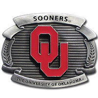 Oklahoma Sooners NCAA Oversized Belt Buckle