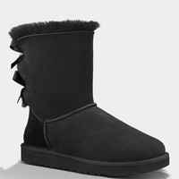 Ugg Bailey Bow Womens Boots Black  In Sizes