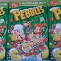 Post Pebbles Limited Edition Sugar Cookie Flavor Cereal (Pack of 3)