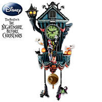 Tim Burtons Nightmare Before Christmas Black Light Village Collection