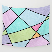 Frosted pastel Wall Tapestry by EDrawings38