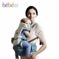 New Hipseat For Newborn And Prevent O-Type Legs, 6 in 1 Carry Style