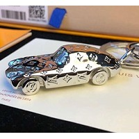 Louis Vuitton fashion sports car keychain pendant car keychain creative personality men and women pendant