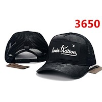 BLACK LV Classic Baseball Cap Sun Cap Sports Hat for Women Men Adjustable