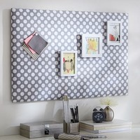 Dot Pin-It Pinboard, Grey