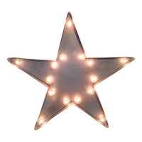 Star Symbol Marquee Sign Light
