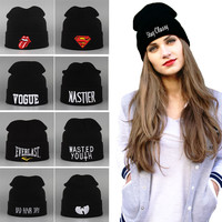Brand New Sport Who Winter Cap Beanie Knitted Winter Hats For Women And Men Fashion Caps