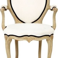 One Kings Lane - Frederick P. Victoria & Son - Heart Armchair by FPV