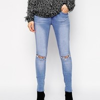 New Look Ripped Knee Jeans