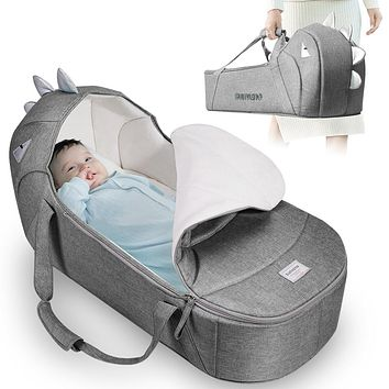 Portable Baby Travel Bed and Bag for Baby 0-6M
