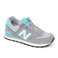 New Balance 574 Pennant Collection Sneakers - Womens Shoes - Grey