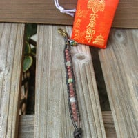 Chinese Year of Horse Charm and Japanese Omamori Amulet by Off on a Whim - Made in Japan
