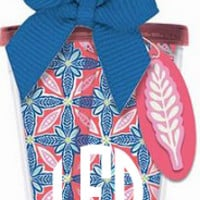 Monogrammed Double Wall Acrylic Cup   Custom Tumbler   Marley Lilly