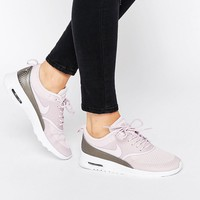 Nike Bleached Lilac Air Max Thea Trainers