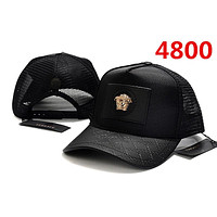 COOL BLACK Versace Classic Baseball Cap Sun Cap Tennis Cap Sports Hat for Women Men Adjustable