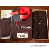 Tagre™ AUTHENTIC Louis Vuitton Monogram Sarah Wallet - Dust Bag - Box - Receipt - EUC