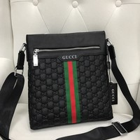 Gucci Women Men Leather monnogam Handbag Crossbody bags Shouldbag Bumbag
