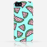 Watermelon Pattern Summer iPhone 4 Case, iPhone 4s Case, iPhone 5 Case, iPhone 5s Case, iPhone Hard Plastic Case